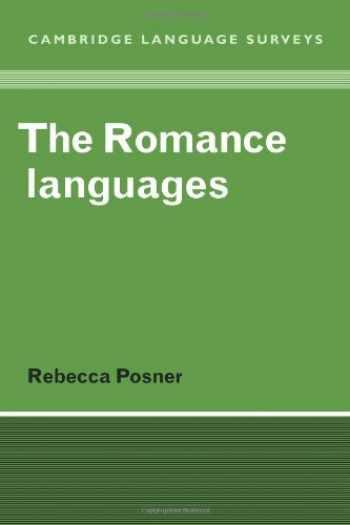 9780521281393-0521281393-The Romance Languages (Cambridge Language Surveys)