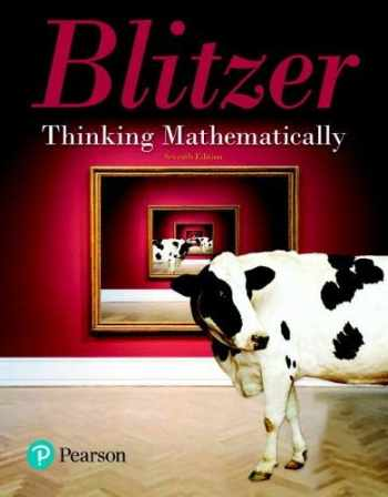 9780134683713-0134683714-Thinking Mathematically (7th Edition)