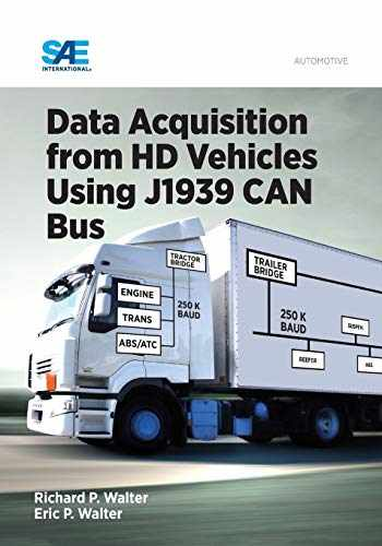 9780768081725-0768081726-Data Acquisition from HD Vehicles Using J1939 CAN Bus