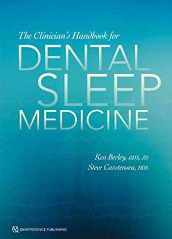 9780867158137-0867158131-The Clinician's Handbook for Dental Sleep Medicine