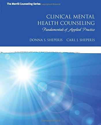 9780137083701-013708370X-Clinical Mental Health Counseling: Fundamentals of Applied Practice (Merrill Counseling)