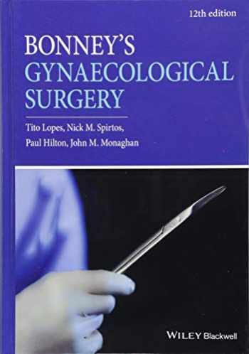 9781119266785-1119266785-Bonney's Gynaecological Surgery