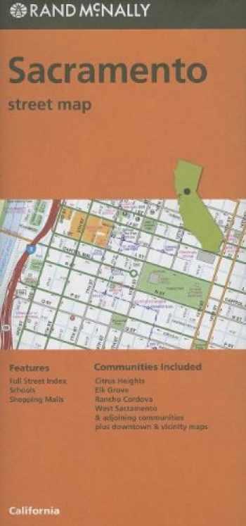 9780528007798-0528007793-Rand McNally Sacramento Street Map