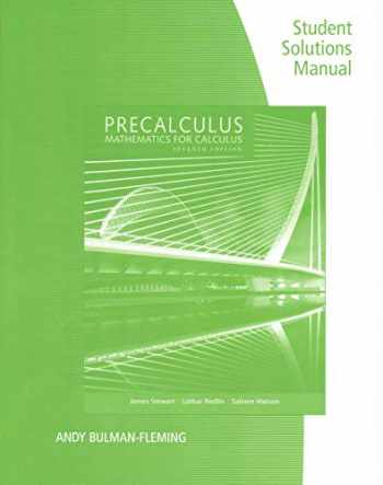 9781305253612-1305253612-Student Solutions Manual for Stewart/Redlin/Watson's Precalculus: Mathematics for Calculus, 7th