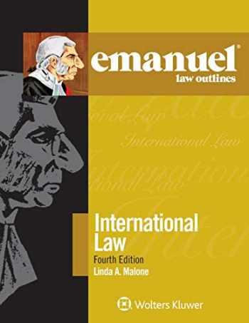 9781543805871-1543805876-Emanuel Law Outlines for International Law