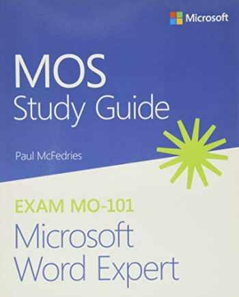 9780136628378-0136628370-MOS Study Guide for Microsoft Word Expert Exam MO-101