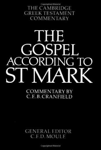 9780521092043-0521092043-The Gospel according to St Mark: An Introduction and Commentary (Cambridge Greek Testament Commentaries)