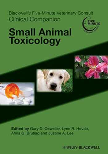 9780813819853-0813819857-Blackwell's Five-Minute Veterinary Consult Clinical Companion: Small Animal Toxicology