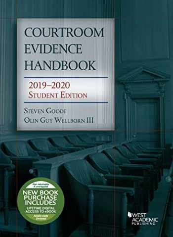 9781642427738-164242773X-Courtroom Evidence Handbook, 2019-2020 Student Edition (Selected Statutes)