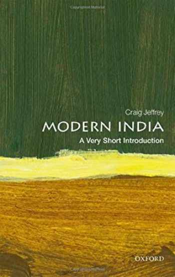 9780198769347-0198769342-Modern India: A Very Short Introduction (Very Short Introductions)