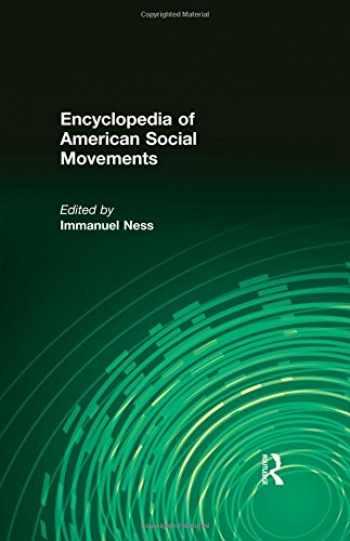 9780765680457-0765680459-Encyclopedia of American Social Movements (Four Volume Set)