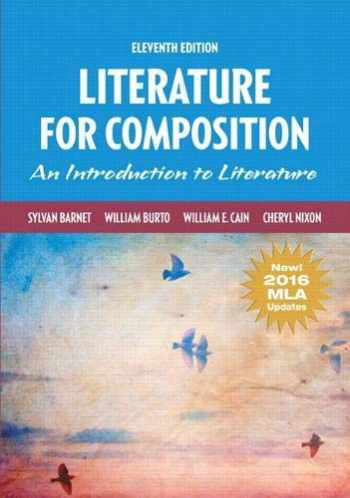 9780134678702-0134678702-Literature for Composition, MLA Update (11th Edition)