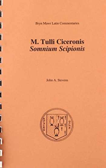 9780929524979-0929524977-Somnium Scipionis (Bryn Mawr Commentaries, Latin) (Latin and English Edition)