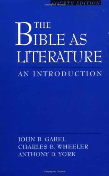 9780195128536-0195128532-The Bible As Literature: An Introduction