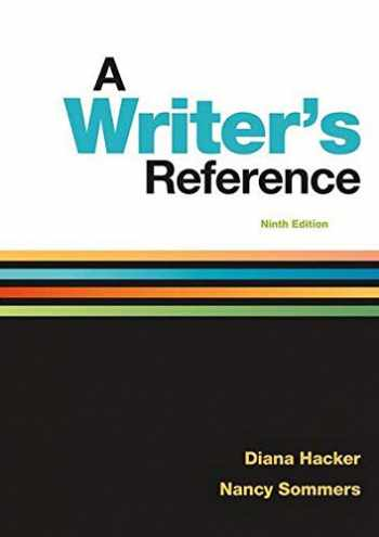 9781319057442-1319057446-A Writer's Reference