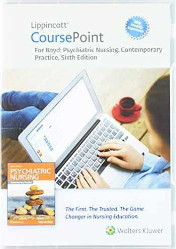 9781975125950-1975125959-Lippincott CoursePoint Enhanced for Boyd's Psychiatric Nursing: Contemporary Practice