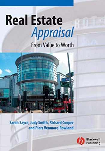 9781405100014-140510001X-Real Estate Appraisal: From Value to Worth