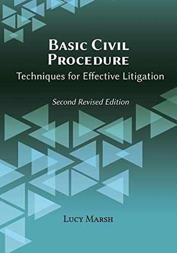 9781600422942-1600422942-Basic Civil Procedure, Second Revised Edition