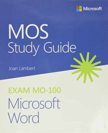 9780136628040-0136628044-MOS Study Guide for Microsoft Word Exam MO-100