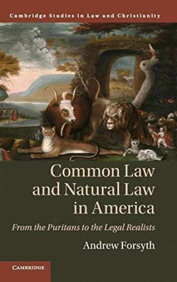 9781108476973-110847697X-Common Law and Natural Law in America: From the Puritans to the Legal Realists (Law and Christianity)