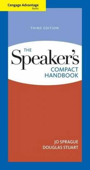 9780495898337-0495898333-Cengage Advantage Books: The Speaker's Compact Handbook