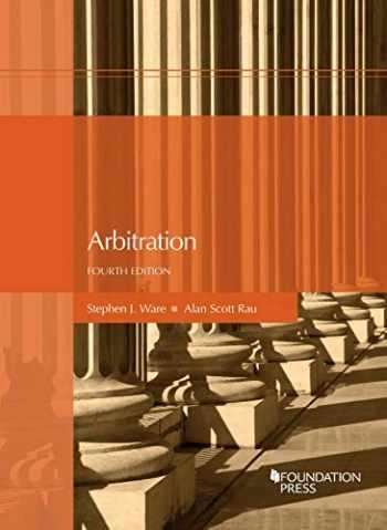 9781683283508-1683283503-Arbitration (Coursebook)