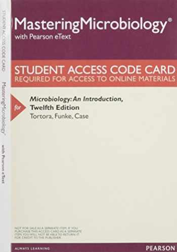 9780133995411-0133995410-Mastering Microbiology with Pearson eText -- Standalone Access Card -- for Microbiology: An Introduction (12th Edition)