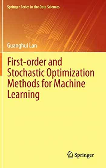 9783030395674-3030395677-First-order and Stochastic Optimization Methods for Machine Learning (Springer Series in the Data Sciences)