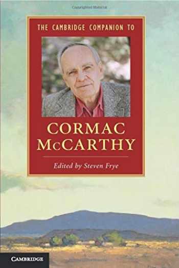 9781107644809-1107644801-The Cambridge Companion to Cormac McCarthy (Cambridge Companions to Literature)
