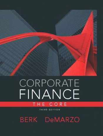 9780133097894-0133097897-Corporate Finance, The Core (3rd Edition) (Pearson Series in Finance)