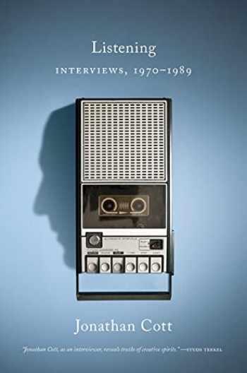9781517909017-1517909015-Listening: Interviews, 1970–1989