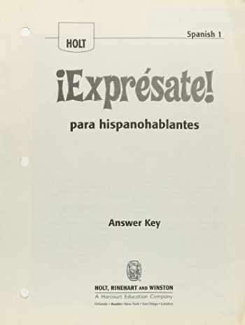 Sell, Buy or Rent ¡Exprésate!: Expresate para ...
