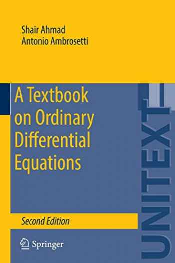 9783319164076-3319164074-A Textbook on Ordinary Differential Equations (UNITEXT, 88)
