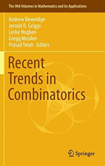 9783319242965-3319242962-Recent Trends in Combinatorics (The IMA Volumes in Mathematics and its Applications (159))