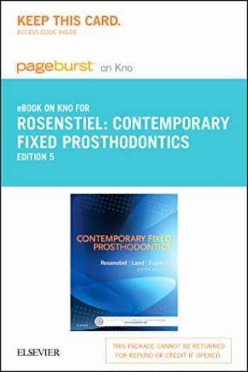 9780323228534-0323228534-Contemporary Fixed Prosthodontics - Elsevier eBook on Intel Education Study (Retail Access Card)