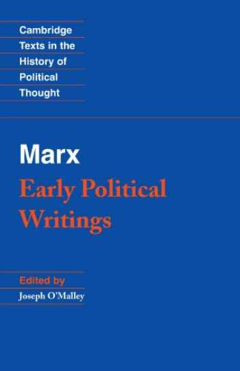 9780521349949-052134994X-Marx: Early Political Writings (Cambridge Texts in the History of Political Thought)