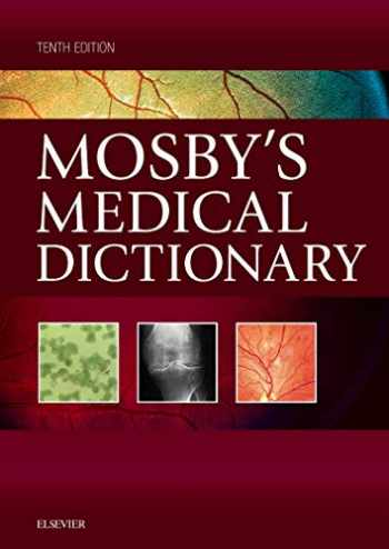 9780323414258-0323414257-Mosby's Medical Dictionary