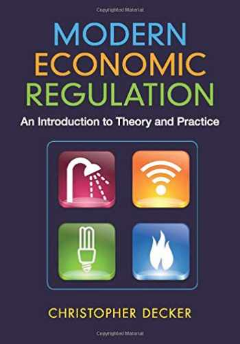 9781107699069-1107699061-Modern Economic Regulation: An Introduction To Theory And Practice