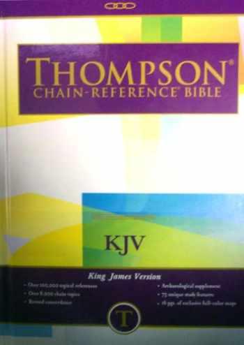 9780887071225-0887071228-KJV - Hardcover - Regular Size - Thompson Chain Reference Bible (015131)