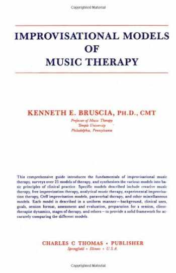 9780398052720-0398052727-Improvisational Models of Music Therapy