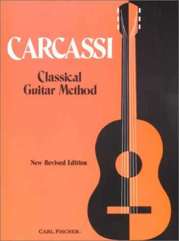 9780825800498-0825800498-Carcassi Classical Guitar Method, New Revised Edition