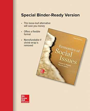 9781259300103-1259300102-Loose-Leaf for Economics of Social Issues