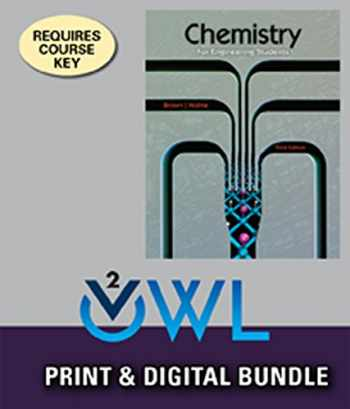 9781305367371-1305367375-Bundle: Chemistry for Engineering Students, 3rd, Loose-Leaf + OWLv2, 1 term (6 Months) Printed Access Card
