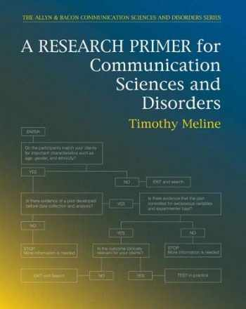 9780137015979-0137015976-Research Primer for Communication Sciences and Disorders, A