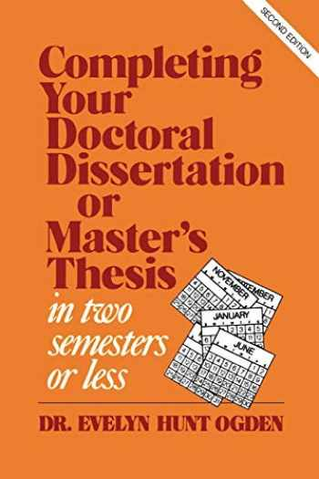 Buying doctoral dissertations online
