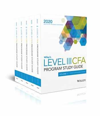 9781119644491-1119644496-Wiley's Level III CFA Program Study Guide 2020: Complete Set