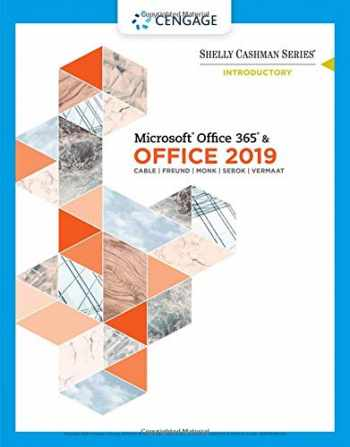 9780357026434-0357026438-Shelly Cashman Series Microsoft Office 365 & Office 2019 Introductory (MindTap Course List)