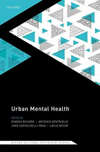 9780198804949-0198804946-Urban Mental Health (Oxford Cultural Psychiatry)