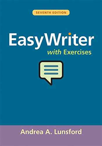 9781319152413-1319152414-EasyWriter with Exercises
