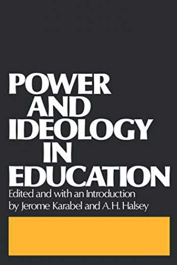 9780195021394-0195021398-Power and Ideology in Education